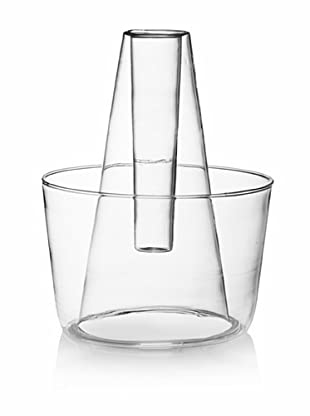 Kate Spade Saturday Mouth-Blown Glass Two-Level Vase