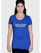 Blue Printed T Shirt Tantra