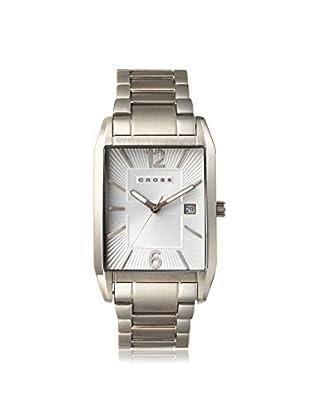 Cross Men's CR8001-22 Gotham Analog Display Japanese Quartz Silver Watch