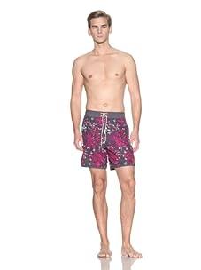 Ted Baker Men's Fleural Swim Boardshorts (Grey)