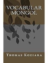 Vocabular Mongol
