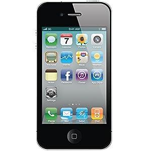Apple iPhone 4 (Black, 8GB)