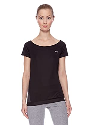 PUMA Trainingsshirt TP Graphic (Schwarz)