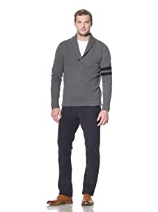 Benson Men's Shawl Collar Pullover (Charcoal)