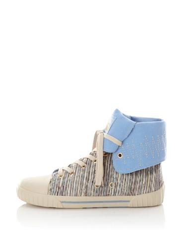 Gola Women's Daze High-Top Sneaker (Blue)