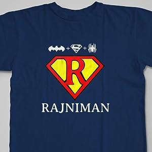 RajniMan   Size M   Blue