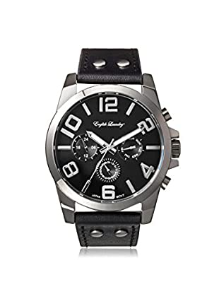 English Laundry Men's EL7593S236-362 Black Alloy/Stainless Steel Watch