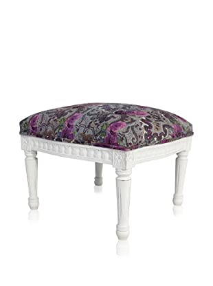 nuLOOM Taylor Floral Accent Stool