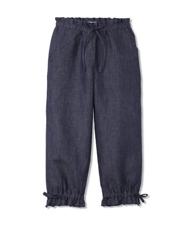 Neige Girl's Mallory Cropped Pants (Indigo)