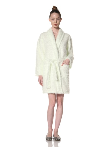 Aegean Apparel Women's Furry Robe 36