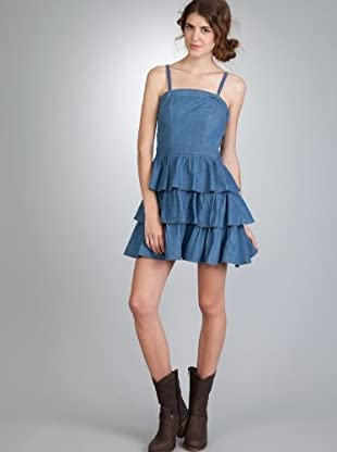 Naf Naf Vestido Lads (Azul)