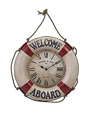 Welcome Aboard Wall Clock