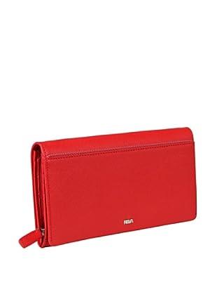 Nava Design Portafoglio Lungo Saffiano (Rosso)