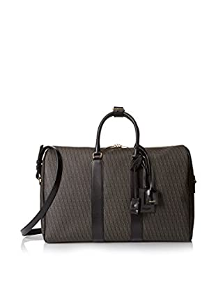 Saint-Laurent Toile Monogram 24H Duffle, Black