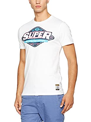 Superdry T-Shirt Manica Corta Av-Gas Lite Loomed