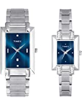 Timex Classic Analog Watch - For Couple Silver-TI00PR19100