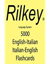 5000 Italian English Flashcards Inglese Italiano Flashcard (Italian Edition)