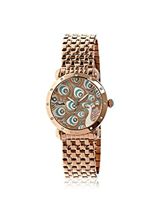Bertha Women's BR3803 Genevieve Rose Gold/Multi Stainless Steel Watch
