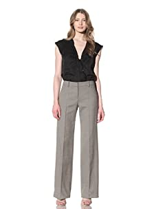 Chloé Women's Straight Leg Pants (Grey)