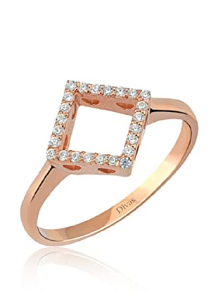Divas Diamond Anillo DVS235000 (Oro Rosa)
