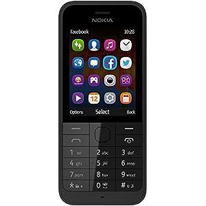 Nokia 220 (Dual SIM, Black)
