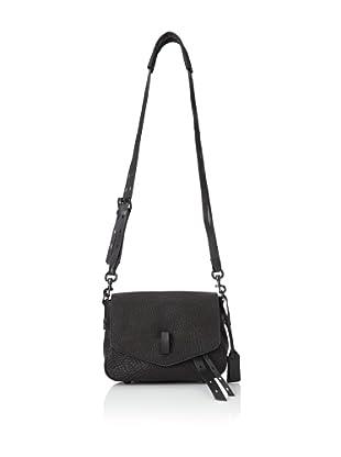 Gryson Women's Ellie Small Belted Strap Shoulder Bag (Black)