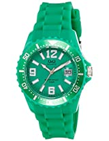 Q&Q Analog Green Dial Women's Watch - A430J004Y