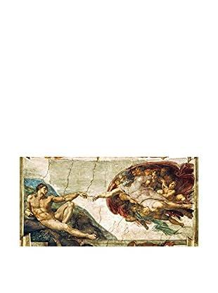 Legendarte Lienzo Michelangelo Buonarrotti - La Creazione Di Adamo