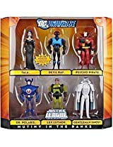 DC Universe Mutiny in the Ranks Action Figure Set 6 Pc - C2i_Inv_375
