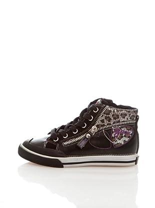 Geox Junior Zapatos (Negro)