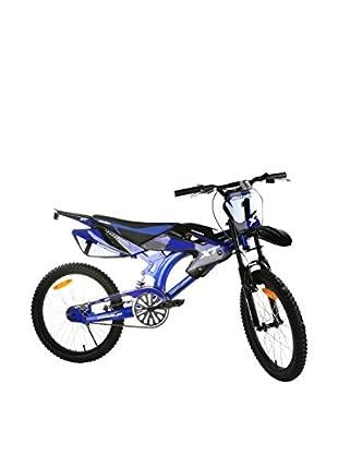 Schiano Fahrrad 20 Motobike 01V. blau
