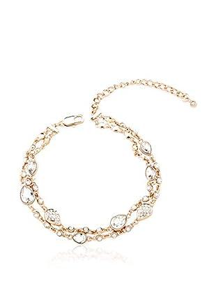 Metropolitan Armband VENICE rosé/weiß
