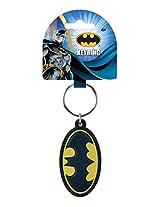 Dc Comics Batman Logo Soft Touch Pvc Key Ring (With Gift Box)