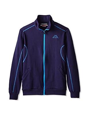 Kappa Men's Fleece Zip Up with Contrast Stitching Jacket
