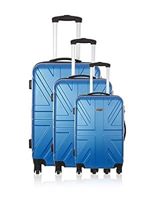 Travel ONE Set de 3 trolleys rígidos Coventry Azul