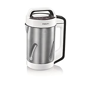 Philips Viva Collection HR2201/81 1.2-Litre Soup Maker (White/Cashmere Grey)