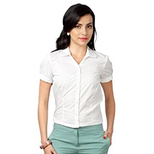 Allen Solly Women Regular Fit Shirt_AWTS314R04481_ M
