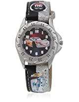 Cars 3K2018u-Cr-015Sr Black/Multi Analog Watch