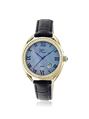 Sophie and Freda Women's SF2906 Austin Black Leather Watch