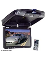 Pyle PLRD92 9-Inch Flip-Down Monitor and DVD Player with Wireless FM Modulator/ IR Transmitter