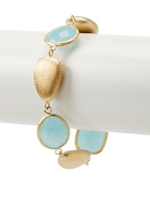 Rivka Friedman Caribbean Blue Quartzite Bracelet