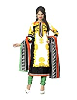 vaamsi blended dress material (Deep1028_Multi-Coloured_Free Size)
