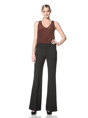 Chaiken Women's Noelle Wide Leg Pant (Black)