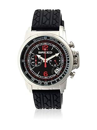 Breed Reloj con movimiento cuarzo japonés Brd5401 Negro 44  mm