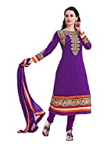 Livaaz Party Wear viscose anarkali Salwar Suit/dress material