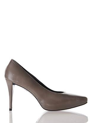 Farrutx sandal 41481 - Sandalias de vestir para mujer (gris)