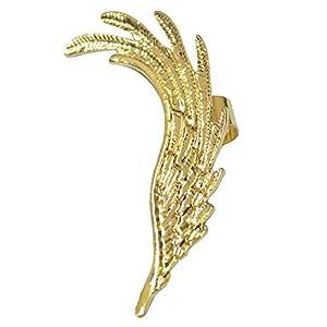 Via Mazzini Fairy Wing Ear Cuff Earrings - Gold