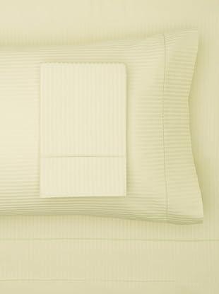 300 Thread Count Satin Stripe Sheet Set (Mint)