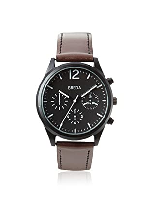 Breda Men's 2369 James Pilot Brown/Black Alloy Watch