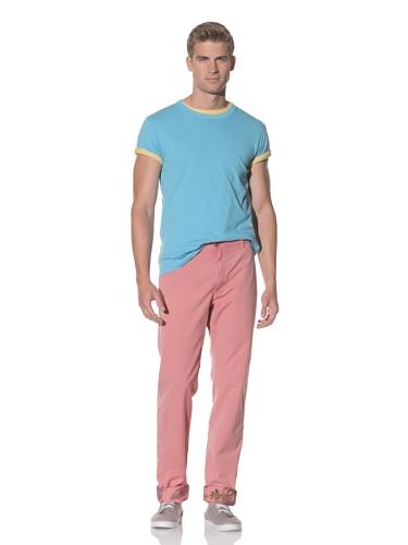 Tailor Vintage Men's Chino Pant (Red)